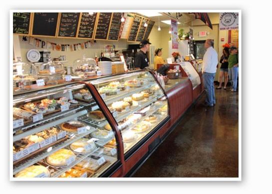 Inside My Daddy's Cheesecake in Clayton.   Kayci Merritte