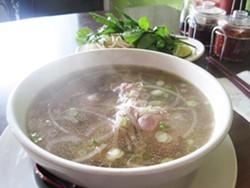 A bowl of pho at Pho Long - IAN FROEB
