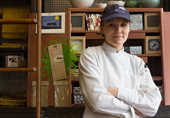 Pastry chef Lisa Fernandez-Cruz.