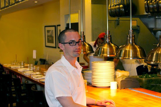 Brian Moxey, executive chef of Pastaria in Clayton | Ian Froeb