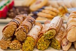 Cannoli at Piccione Pastry in the Delmar Loop - MABEL SUEN