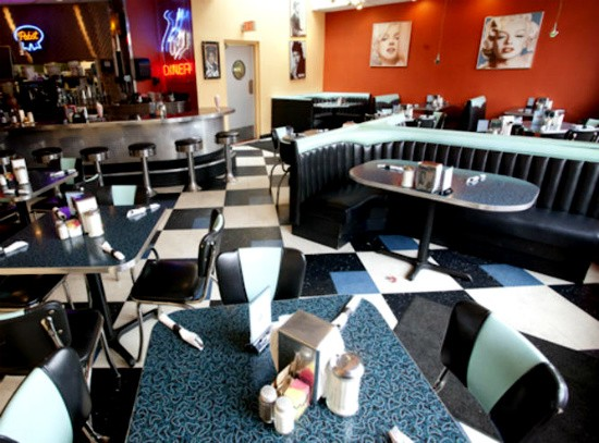 The interior of South Grand's City Diner. - RFT PHOTO