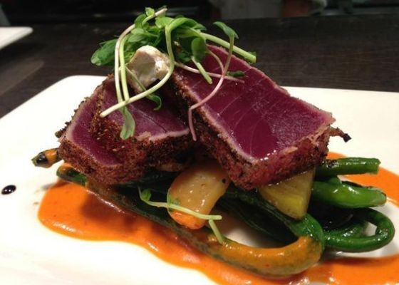 Oceano's spiced South Pacific big eye tuna. | RFT Photo