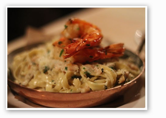 Housemade linguini with shrimp and clams. | Nancy Stiles