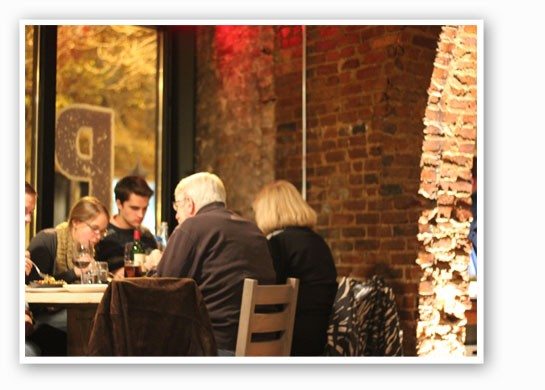 Fans of Duff's will recognize the exposed brick. | Nancy Stiles