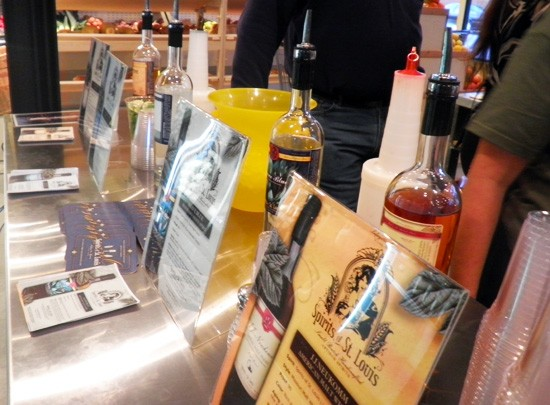 Spirits of St. Louis (literally), to be sold at Local Harvest. - KATIE MOULTON