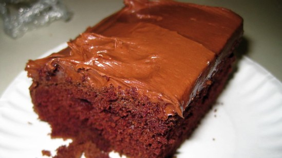 """Was it Joan of Arc who said, """"Let them eat chocolate cake with chocolate frosting""""? Oh, never mind. - ROBIN WHEELER"""