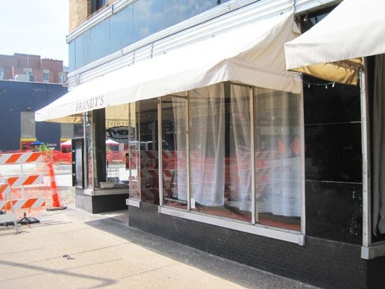 It's curtains for Brandt's in the Delmar Loop. - IAN FROEB