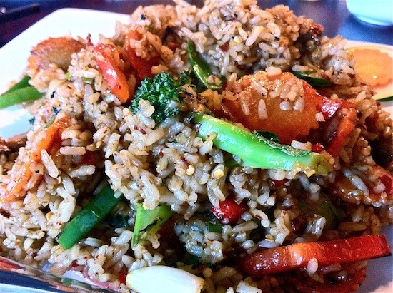 We fantasize about Pearl Café's fried rice. - BRYAN PETERS