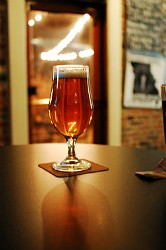 A Bell's Hopslam Ale. Drink it slow, it has a 10 percent alcohol content. - CAILLIN MURRAY