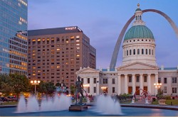 The Hyatt Regency St. Louis at the Arch. - IMAGE VIA