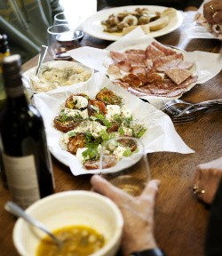 A tasty spread at Salume Beddu - JENNIFER SILVERBERG