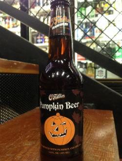 Drinking O'Fallon's Pumpkin Ale out on the town. | Zach Garrison