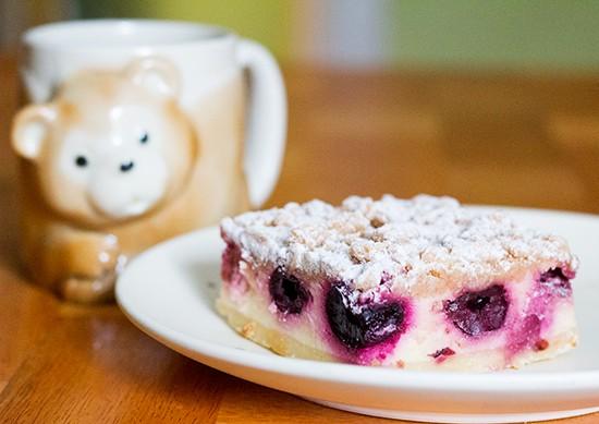 German cherry cheesecake. - PHOTOS BY MABEL SUEN