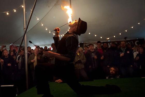 Fire eaters. | Jon Gitchoff