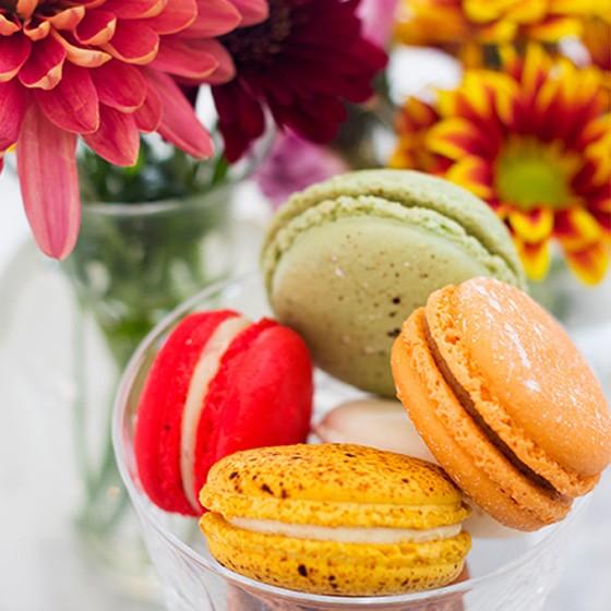 Macarons at La Patisserie Chouquette.   Mabel Suen