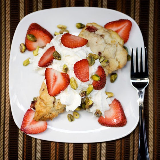 Strawberry shortcake at Cork Wine Bar. | Jennifer Silverberg