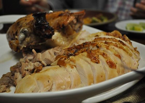 Thanksgiving turkey at Cielo. | Nancy Stiles