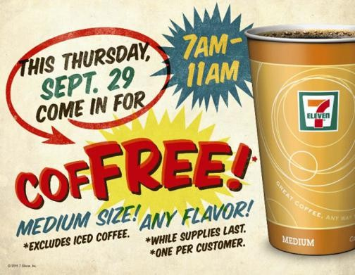 Free 7-Eleven coffee and exacting online revenge? Oh, thank heaven! - 7-ELEVEN