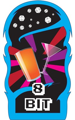 The 8-Bit Bar concept proudly boasts bits, beers, sprites and spirits. - IMAGE VIA