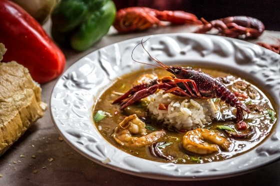 CHICKEN AND ANDOUILLE SAUSAGE GUMBO AT MOLLY'S. | RICK GOULD