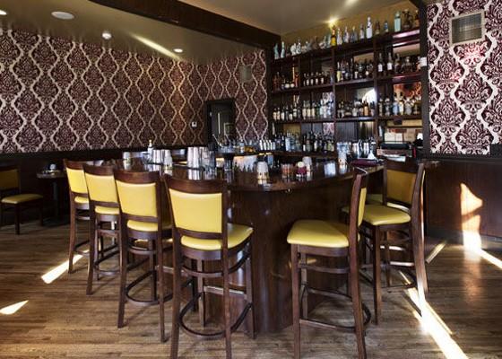The bar inside Planter's House.   Jennifer SIlverberg