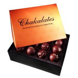 """Chakalates"" chocolate by Chaka Khan. - IMAGE VIA"