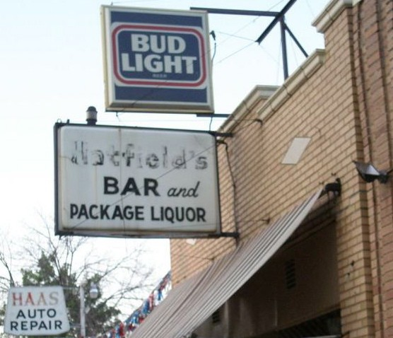 Claudia's Pub. Don't be fooled by the sign. - ROBIN WHEELER