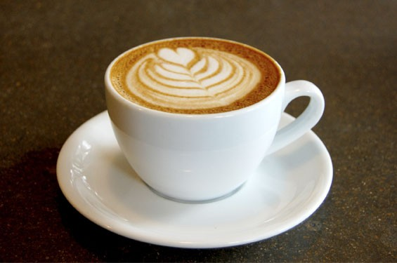 A cappuccino from Sump Coffee. | Cheryl Baehr