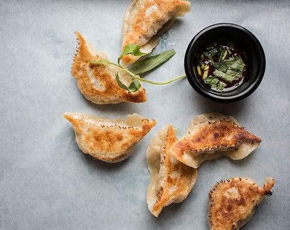 The handmade dumplings at Lona's Lil Eats. | Jennifer Silverberg