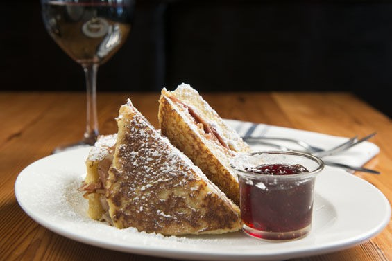 The Monte Cristo sandwich at Three Flags Tavern. | Corey Woodruff
