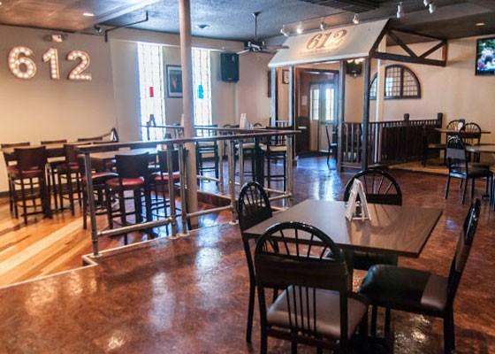 Inside 612 Kitchen & Cocktails. | Caroline Yoo