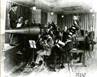 A PRE-ELECTRIC RECORDING SESSION. COURTESY OF THE LIBRARY OF CONGRESS