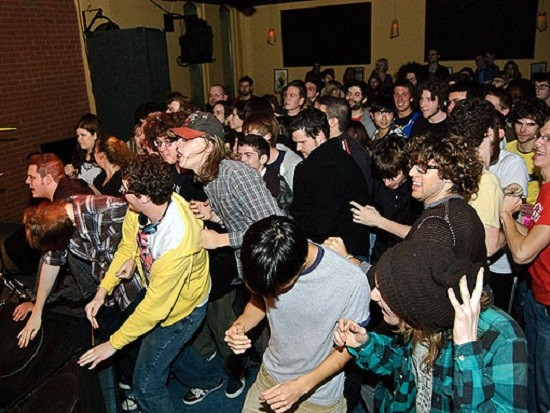 Rabid fans packed the Billiken for Japandroids' 2009 appearance.