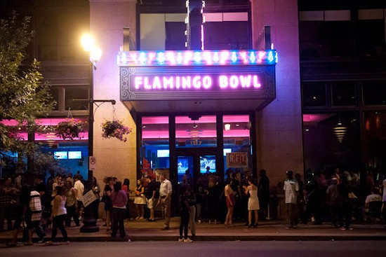 Crowds will converge again on Washington Avenue for this year's RFT Music Showcase. - JON GITCHOFF