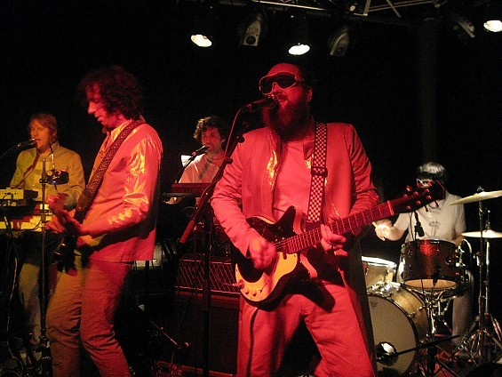 The Apples in Stereo got their space-disco on last night at The Billiken Club. - DIANA BENANTI