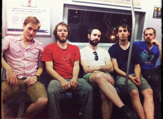 HUMDRUM ON A SUBWAY IN NYC. COURTESY OF DAN MEEHAN
