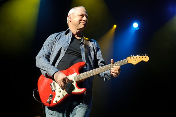 Mark Knopfler last night at the Fabulous Fox Theatre. See more photos from Mark Knopfler's concert at the Fox there.. - PHOTO: TODD OWYOUNG