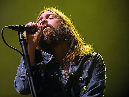 Chris Robinson of the Black Crowes last night at the Pageant. See more photos from last night's show. - PHOTO: TODD OWYOUNG