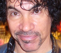 Oates with 'stache last October in St. Louis. - PHOTO: CHAD GARRISON