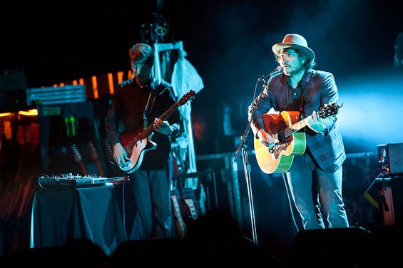 Wilco performing at Peabody Opera House 2011. - JASON STOFF