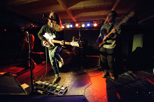 Girls last night at the Gargoyle. See the full concert slideshow here. - PHOTO: TODD OWYOUNG
