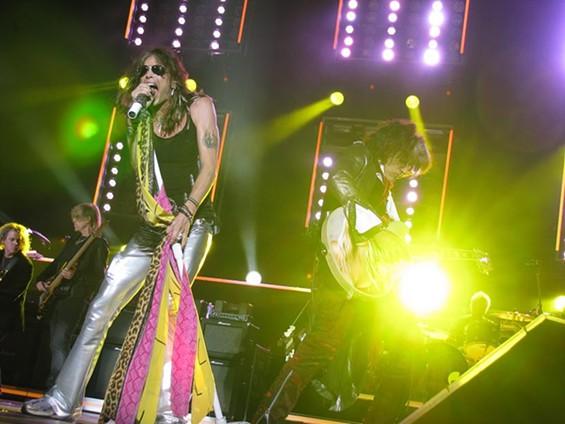 Aerosmith last year in St. Louis - ANNIE ZALESKI