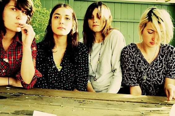 Warpaint can't get enough of Nellyville; the blissed out rock quartet from Los Angeles will be back in town for the third time since June on November 19 at The Gargoyle.