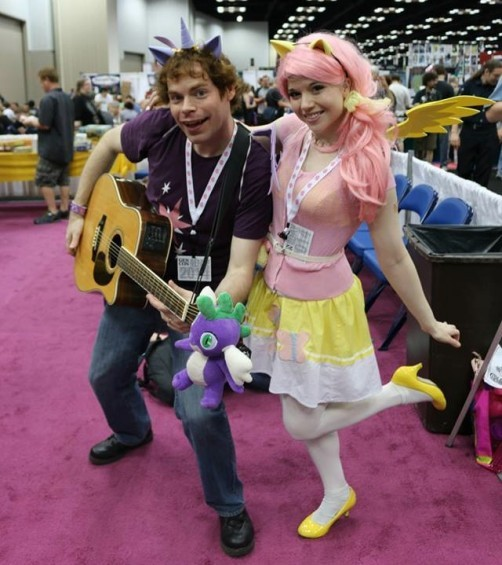 Meet Twi-fi Sparklecaster and Professor Savvyshy of the Shake Ups in Ponyville. - PHOTO COURTESY OF THE BAND