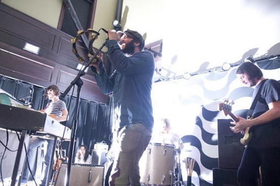 THE BLACK ANGELS AT OLD ROCK HOUSE IN APRIL. PHOTO BY JON GITCHOFF