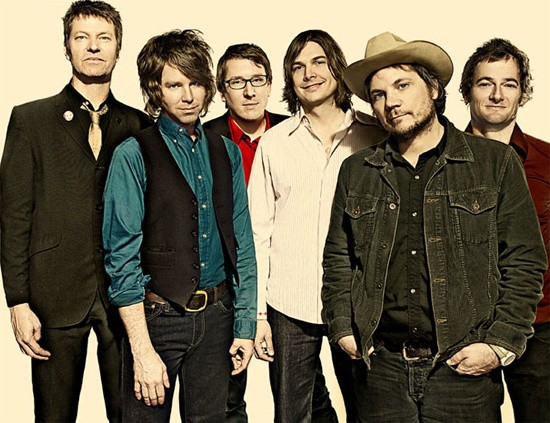 Wilco (pictured) shares top billing with the Killers.