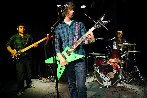 Flaming Death Trap last night at the Billiken Club. See full slideshow from last night here. - PHOTO: TODD OWYOUNG