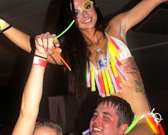 Don't even get us started on the glow sticks. - CASSIE KOHLER