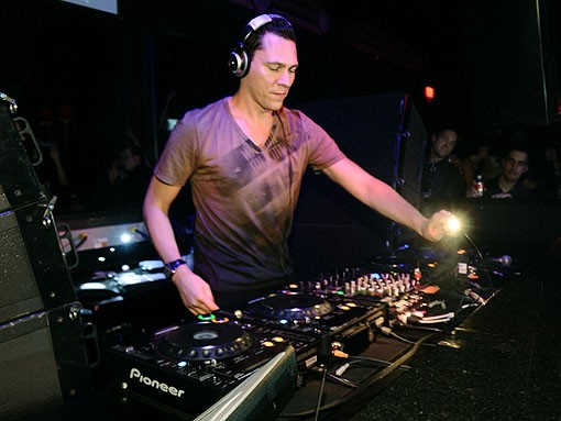 View more Tiesto photos from last night. - PHOTO: EGAN O'KEEFE